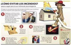 ¿Cómo evitar los incendios? #infografía