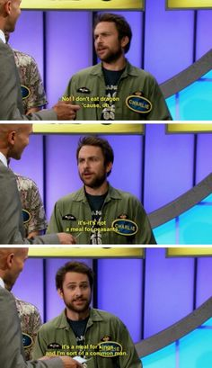 It's always sunny in Philadelphia Charlie Kelly family fight dragon
