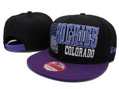 MLB Colorado Rockies Snapback Hats Caps Black 3444! Only  8.90USD. Trendy  Fashion World b3c1bcd2b77a