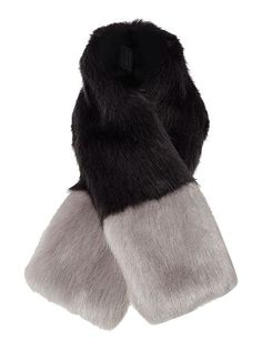 Exclusive tippet Faux Fur Scarf