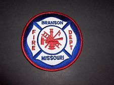 BRANSON MISSOURI FIRE DEPARTMENT PATCH