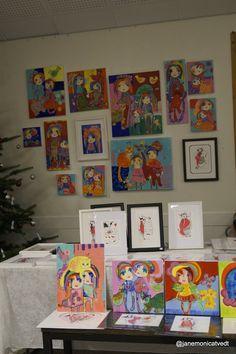 Julemarked - Kunstutstilling i dag på GAusel bydelshus  kl 10-16 - Velkommen Artist Life, Gallery Wall, My Arts, Profile, This Or That Questions, Frame, Artwork, Decor, User Profile