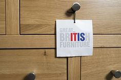 """Most of our furniture is British made - and we""""re proud of it!"""