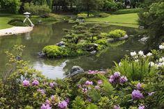Japanese Garden at the Montreal Botanical Garden. Visit http://najga.org/gardens for map location.