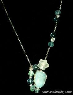 Joyeria energetica on Pinterest | Agate Necklace, Collars and ...