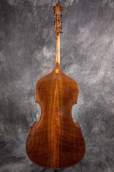 Mill St. Milanese Upright Bass ©Peter Coco 2015 used w/ permission by Seth Kimmel Bass Maker Eugene, OR
