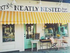 Neatly Nested.   Bit by Bon   Boston. Southie. Local Business. Home Decor. Home Design.