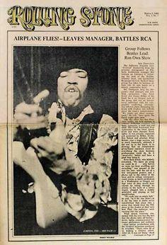 Jimi Hendrix | Rolling Stone '67-'69