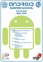 Android Summer School Novi Sad http://www.personalmag.rs/software/razvoj/android-summer-school-novi-sad/