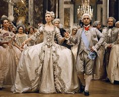 Shortly after meeting her betrothed, Marie (Kirsten Dunst) and Louie (Jason Schwartzman) have a lavish royal wedding.