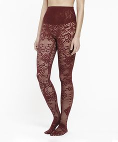 1561f552eacca9 This Port Lace Bernadette Shaper Tights - Women by Yummie by Heather Thomson  is perfect!