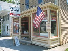Hallet's famous ice cream, Yarmouth, MA.