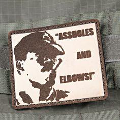 Assholes & Elbows Aliens Morale Patch