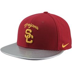 newest db00e 5f211 Nike USC Trojans 2012 Chrome Package True Snapback Hat -