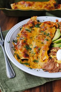 shredded beef enchiladas with best homemade red sauce + 9 other delicious enchiladas.
