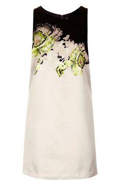 Topshop Embellished Cutout Shift Dress | Nordstrom