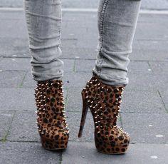 Rock high heels!
