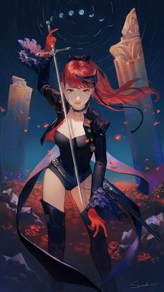 Safebooru is a anime and manga picture search engine, images are being updated hourly. Persona 5 Anime, Persona 4, Character Concept, Character Art, Character Design, Female Characters, Anime Characters, Shin Megami Tensei Persona, Familia Anime