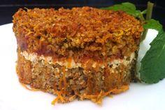 KIBE assado - A culinária libanesa é uma das mais saudáveis do mundo e o kibe é um prato especial. Leve, nutritivo, saboroso, é quase uma refeição complet...