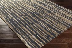Brayden Studio Mcdade Hand-Tufted Wool Blue Area Rug Rug Size: Runner x Rectangle Area, Hand Tufted Rugs, Neutral Colour Palette, Accent Rugs, Abstract Pattern, Traditional Design, Modern Classic, Beige Area Rugs, Rug Size