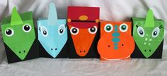 Dinosaur Train goodie bags - so cute...