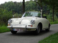 One of 12 delivered new to the section SAS (Surveillancegroep Autosnelwegen) of the Dutch Rijkspolitie in 1962,1962 Porsche 356B 1600 Cabriolet 'Rijkspolitie' Chassis no. 156096 Engine no. 811648