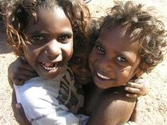 Aboriginal children; Outback Australia