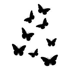 full butterflies