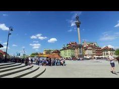 WARSZAWA piękna stolica Polski [4K] - YouTube Cn Tower, Youtube, Street View, World, Travel, Viajes, Destinations, The World, Traveling