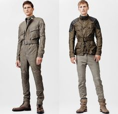 Belstaff 2014 Spring Summer Mens Collection: Designer Denim Jeans Fashion: Season Collections, Runways, Lookbooks and Linesheets