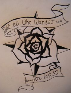 Compass Rose Tattoo by GreenDayAngel on deviantART