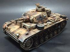 ドイツⅢ号戦車N型