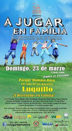 A Jugar en Familia @ Luquillo #sondeaquipr #ajugarenfamilia #luquillo #paralosninos