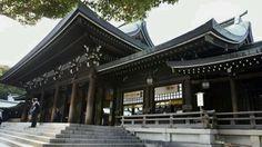 Meiji Shrine - Sunday traditional weddings