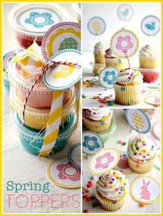 Cupcake Toppers Printable