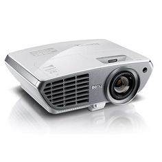 """VIDEOPROYECTOR BenQ W1300. Enjoy 1080p Full-HD image projection up to 300"""" in the comfort of your living room with the W1300 Home Entertainment Projector. You'll be captivated by brilliant image performance featuring a 10,000:1 contrast ratio and a 2,000 lumen brightness. Built-in speakers and lens shift easy set-up seal the deal on this user-friendly experience.  #BenQ #videoproyector"""