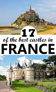A list of 17 of the best castles in France to visit. From the beautiful French castles in Loire Valley, to the best castles in Normandy and the South of France! Europe Travel Tips, European Travel, Travel Hacks, Paris Travel, France Travel, Best Vacations, Vacation Destinations, Maui Vacation, Vacation Ideas