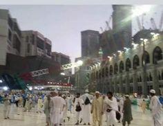 UPDATE: 154 feridos em guindaste incidente em # Meca - # Arábia Ministério do Interior confirmahttp: // on.rt.com/6r4a