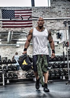 """Dwayne """"The Rock"""" Johnson's New Under Armour Ad Will Have You Sprinting to the Gym  Dwayne The Rock Johnson, Under Armour"""