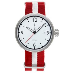 Fancy - White Dial Kendrick Watch by Xetum
