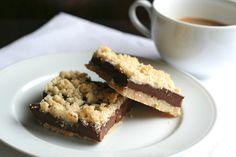 What's for dessert? Chocolate Fudge Crumb Bars.