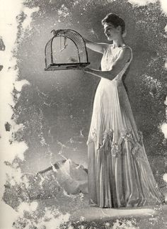 White sunray pleated confection from Nina Ricci 1938