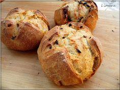 Limara péksége: Hagymás cipók Baking And Pastry, Bread Baking, Good Food, Yummy Food, Hungarian Recipes, Challah, Naan, How To Make Bread, Creative Food