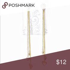 ❣️SALE 90s Gold & Silver Dangle Chain Earrings❣️ ❣️SALE 90s Gold & Silver Dangle Chain Earrings❣️ Vintage Jewelry Earrings