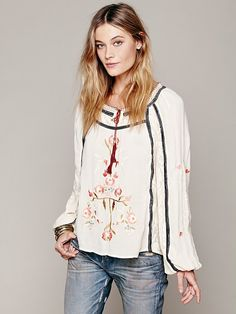 Free People Tiger Lily Top http://www.freepeople.co.uk/whats-new/tiger-lily-top/