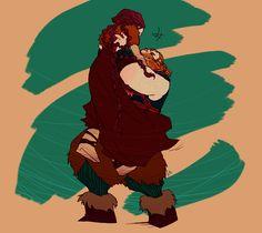 Stoick and Valka