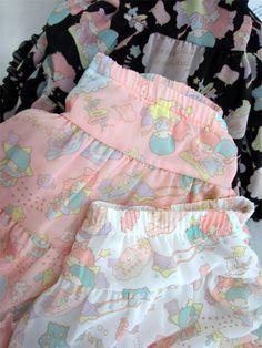 Little Twin Stars Skirt by Galaxxxy