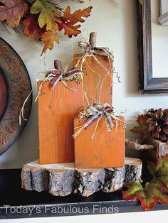 2x4 pumpkins