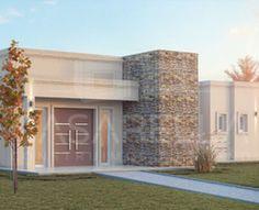 Casarella diseña cada proyecto a tu gusto y necesidad. Front Design, House Front, Sweet Home, Villa, Exterior, House Design, Patio, Mansions, House Styles