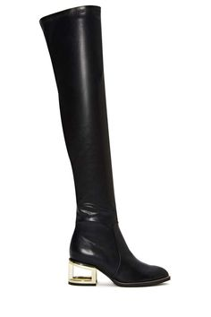 Jeffrey Campbell Basie Boot - Knee High | Jeffrey Campbell | Flats | Back In Stock |  | Boots
